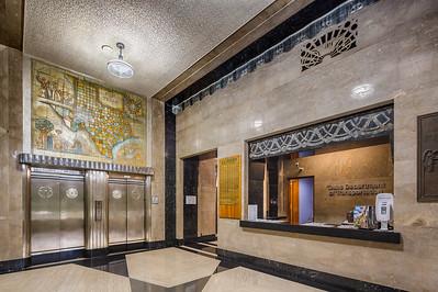 Lobby of Dewitt C. Greer State Highway Building, Austin (1931)  17mm T/S