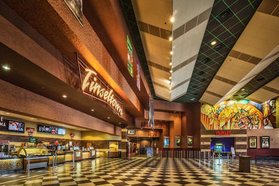 Cinemark Tinseltown Lobby, North Austin