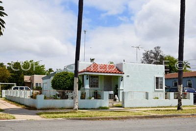 505 East 3rd Avenue, National City, CA - 1942 Streamline Moderne Style, E.J. Christman, architect