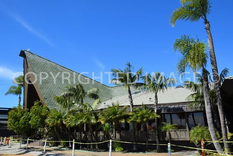 2241 Shelter Island Drive, Point Loma San Diego, CA - 1964 Humphrey's Restaurant, Arnette and Davis, Architects, Tiki Architectural Style