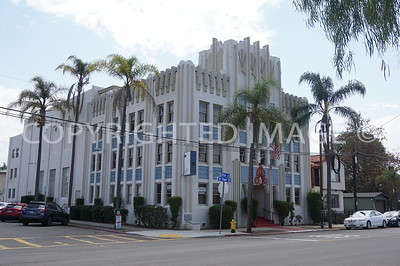 3795 Utah Street, North Park San Diego, CA - 1931 Art Deco Masonic Lodge, Quayle Brothers, Architects