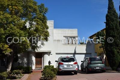 2218 Sunset Boulevard, Mission Hills San Diego, CA - 1940 Art Deco Style