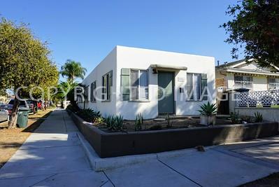 505 D Avenue, National City, CA - 1940's Streamline Moderne Style