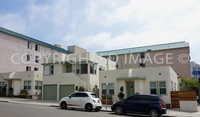 429-445 West Elm Street, Little Italy San Diego, CA - 1930's Art Deco Streamline Moderne Style