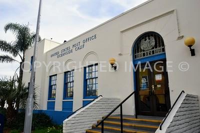 517 Seagaze Avenue, Oceanside, CA - 1935 Post Office, Art Deco Style