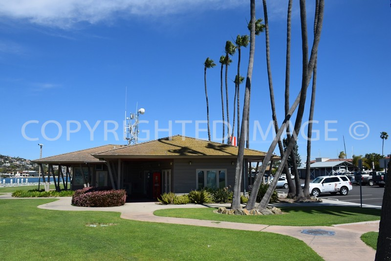 1401 Shelter Island Drive, Point Loma San Diego, CA - San Diego Harbor Police Substation, Tiki Architectural Style
