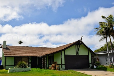 4560 Berwick Drive, Clairemont San Diego, CA - 1962 Tiki Architectural Style