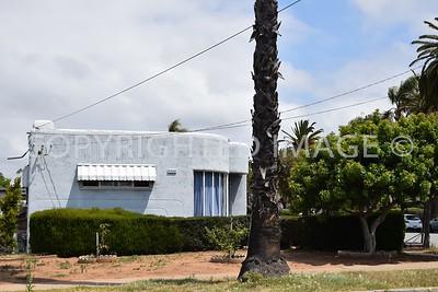 441 East 2nd Avenue, National City, CA - 1939 Streamline Moderne Style, E.J. Christman, architect