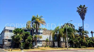 215-233 H Street, Chula Vista, CA - 1960 s Meheli Palms Apartments Tiki Architectural Style