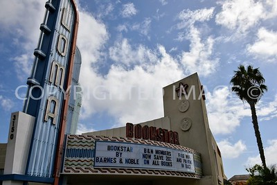3150 Rosecrans Street, Point Loma San Diego, CA - 1946 Art Deco Loma Theater, now Bookstar by Barnes and Noble