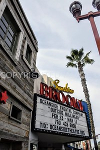 217 South Coast Highway, Oceanside, CA - 1936 Margo Theater, now Sunshine Brooks Theater, Art Deco Style