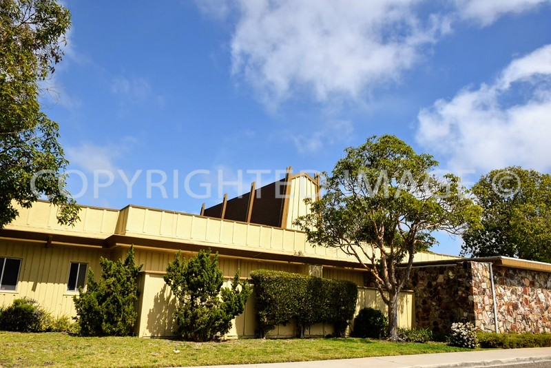 4266 Mount Abernathy Drive, Clairemont San Diego, Ca - 1963 Clairemont Mortuary, Tiki Architectural Style