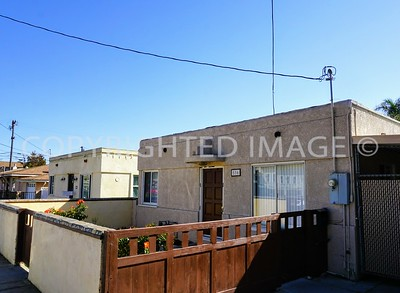 516 and 520 East 24th Street, National City, CA - 1940's Streamline Moderne Style