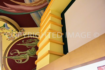 3150 Rosecrans Street, Point Loma San Diego, CA - Interior of 1946 Art Deco Loma Theater, now Bookstar by Barnes and Noble