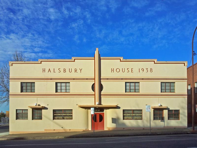 11 September 2014: Halsbury House, 18-26 Montague Street, Goulburn, New South Wales.