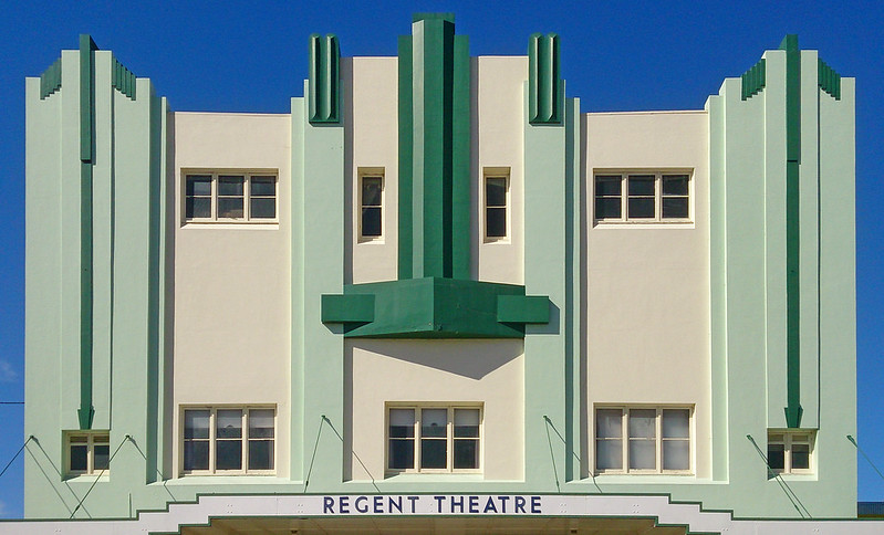 6 May 2017: Former Regent Theatre, Mudgee, New South Wales.