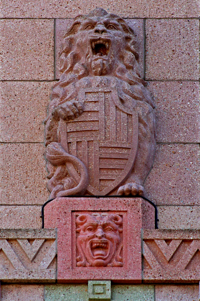 30 July 2014: Colonial Mutual Life Building, 209 Queen Street, Brisbane.