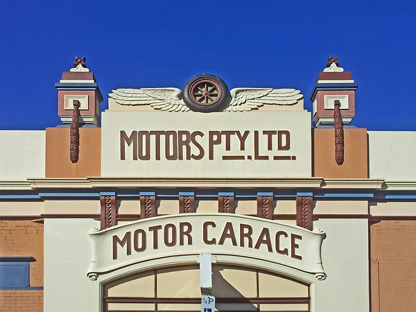 Motors Pty Ltd Motor Garage, Brisbane Street, Launceston, Tasmania.