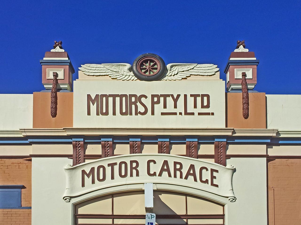 Motors Pty Ltd Motor Garage, Brisbane Street, Launceston, Tasmania.