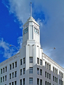 The Australasian T&G Mutual Life Assurance Society Building, corner of Murray and Collins Streets, Hobart, Tasmania.
