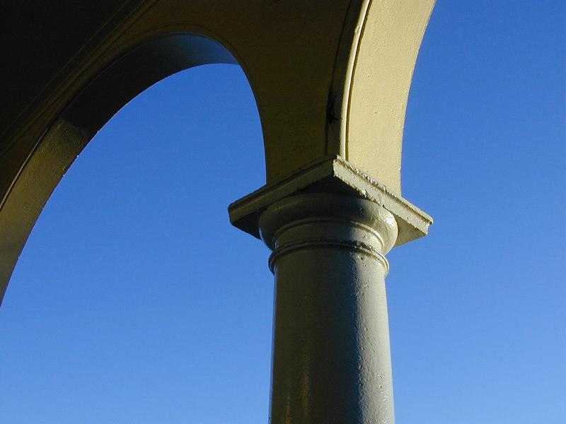 Arcade detail, Sydney Building, Northbourne Avenue, Canberra.