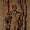 Australian War Memorial; Airman: Hall of Memory wall mosaic (detail), by M Napier Waller.