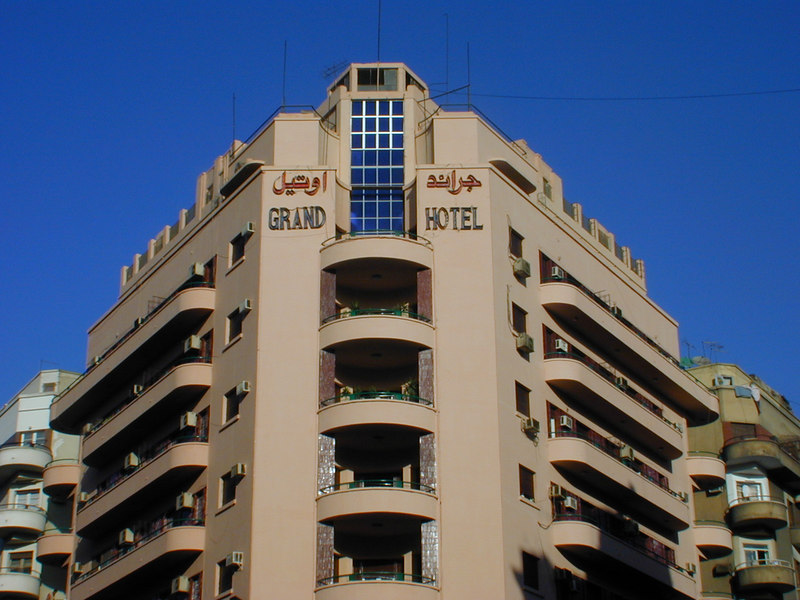 Grand Hotel, downtown Cairo.