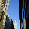 Chrysler Building double vision! View east along 42nd Street.