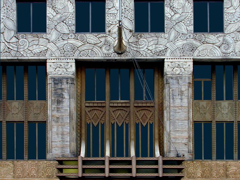 Chanin Building facade.