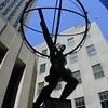 """Atlas"" by Lee Lawrie, Rockefeller Centre, New York City."
