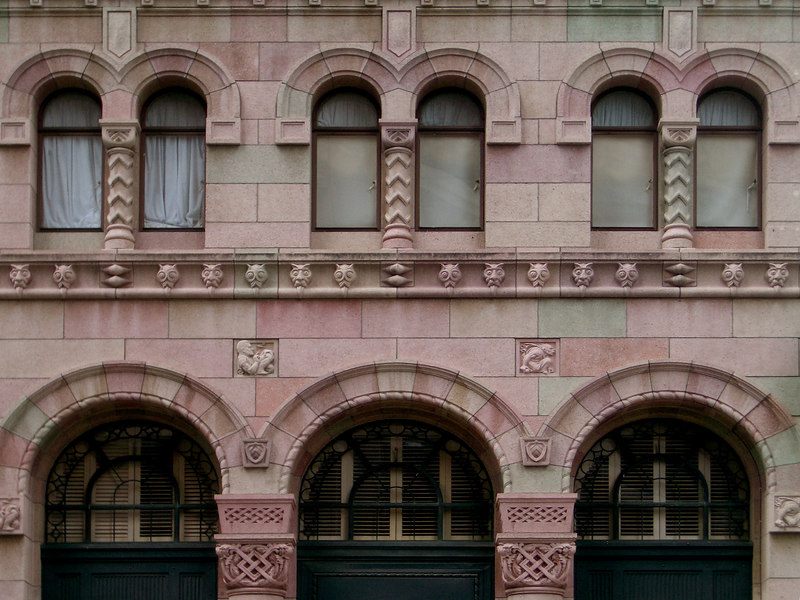Colonial Mutual Life Building, 209 Queen Street, Brisbane. Colonial Mutual buildings built to similar designs also exist in Hobart and Newcastle.