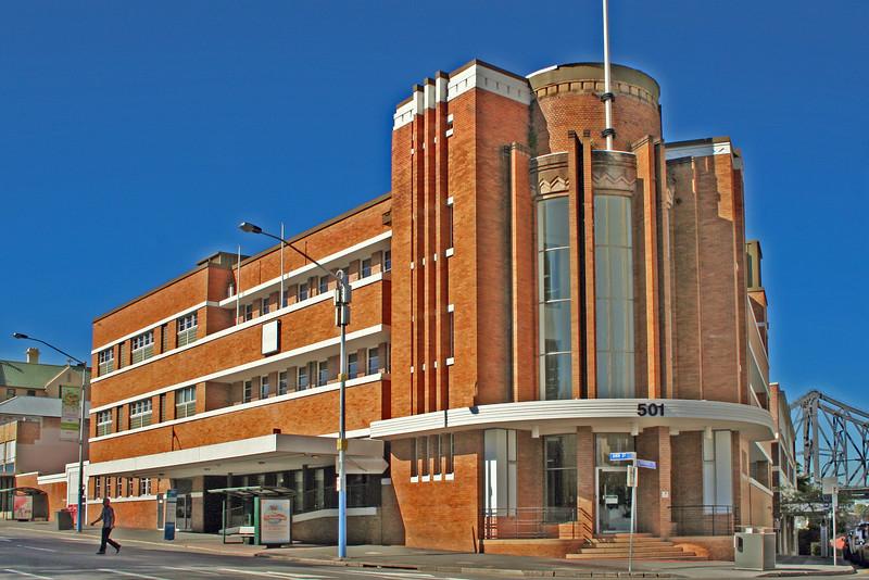 30 July 2014: Former Orient Hotel, Brisbane, Queensland.