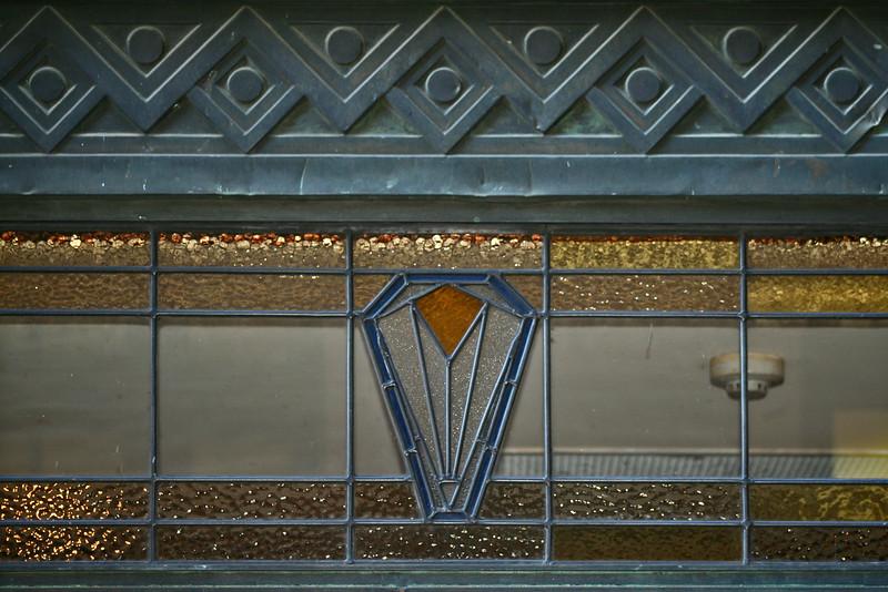 Colonial Mutual Life Building, 209 Queen Street, Brisbane; window detail.