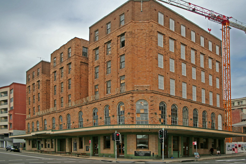 3 August, 2014: The Great Northern Hotel, Newcastle, New South Wales.