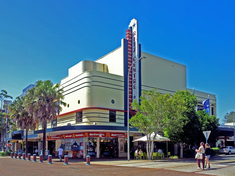 19 October 2013: Ritz Cinema, Port Macquarie, New South Wales.