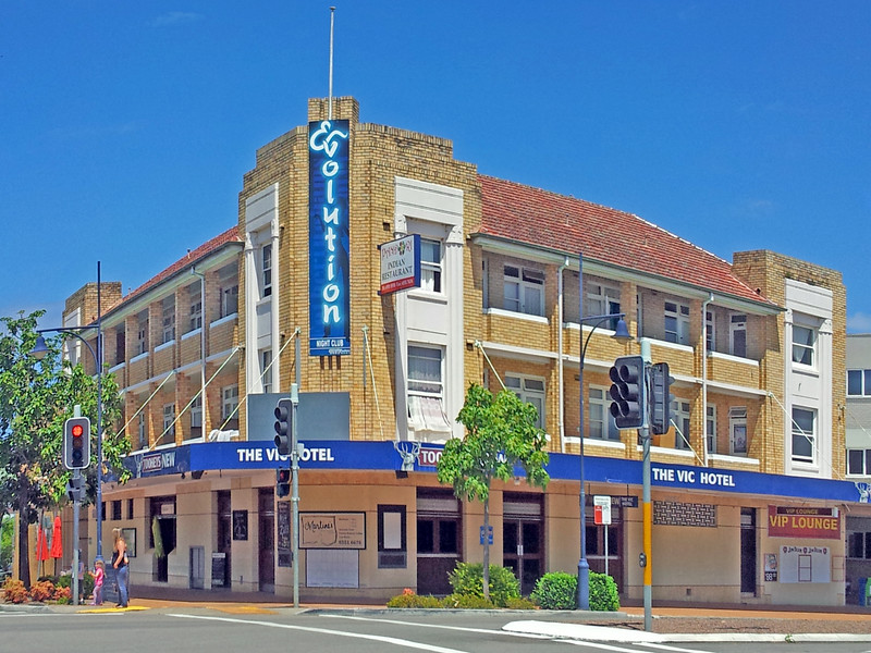 19 October 2013: The Vic Hotel, Taree, New South Wales.