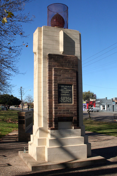 War Memorial, Young, New South Wales, Australia.