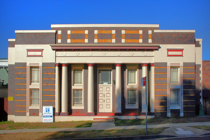 27 July, 2014: Former Masonic temple, Armidale, New South Wales.