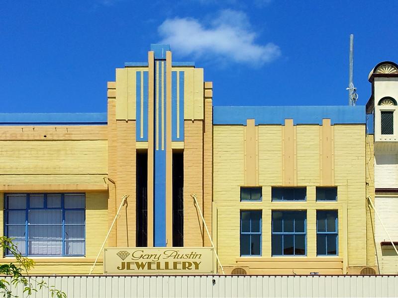 19 October 2013: Shop facade, Taree, New South Wales.