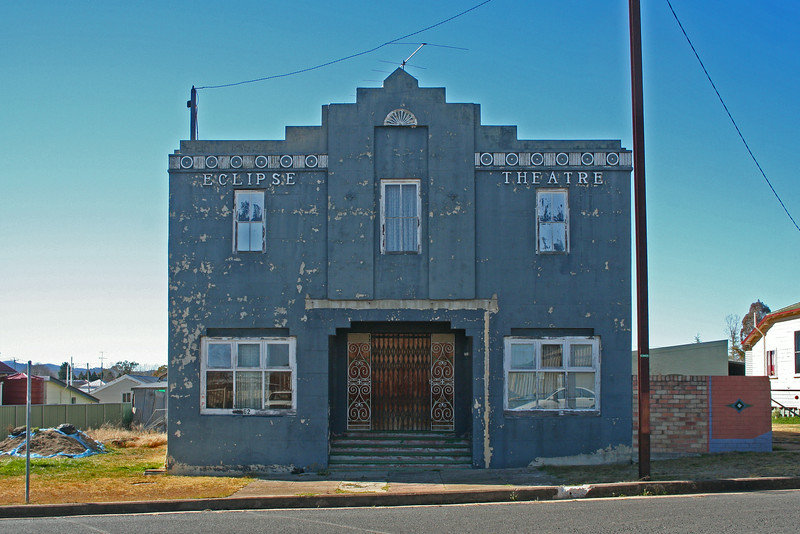 28 July 2014: Former Eclipse Theatre, Deepwater, New South Wales.