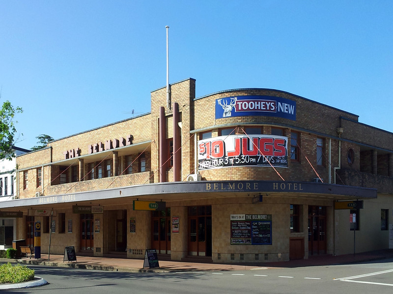 19 October 2013: Belmore Hotel, Maitland, New South Wales. Apparently they do $10 jugs.