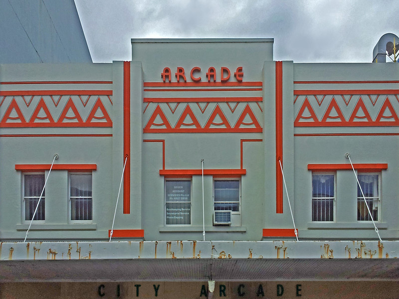 3 August, 2014: City Arcade, Newcastle, New South Wales.