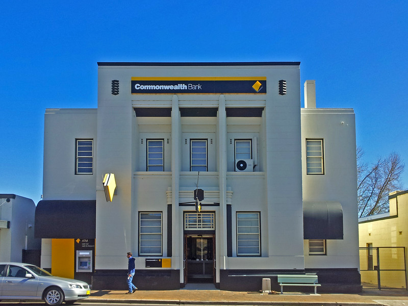 28 July 2014: Commonwealth Bank of Australasia, Tenterfield, New South Wales.