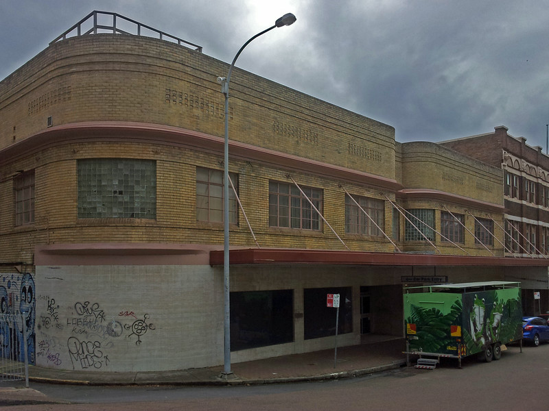 Former David Jones store, Newcastle, New South Wales.