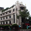 This imposing Art Deco commercial building - possibly originally housing a bank - is located at the intersection of Yaowarat and Charoen Krung Roads at the eastern extremity of Bangkok's Chinatown.