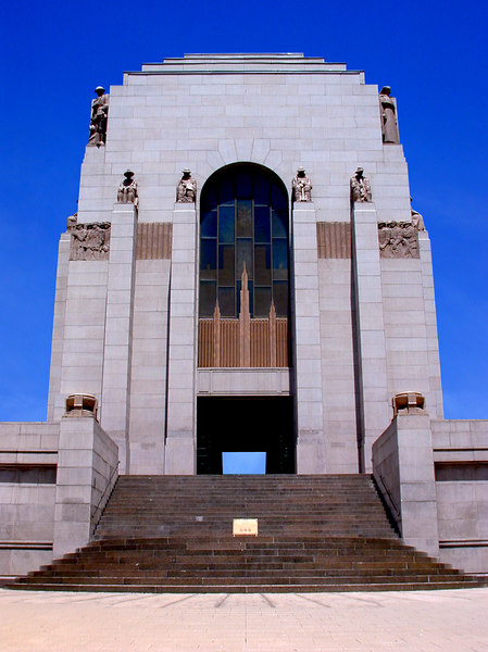 ANZAC War Memorial, Hyde Park, Sydney.