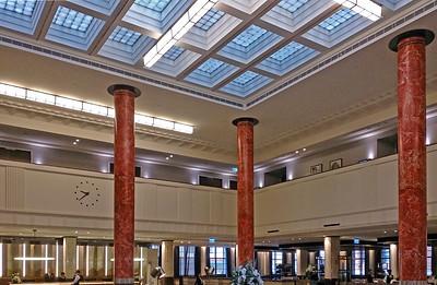 16 April, 2014: Interior, Metropolitan Water, Sewerage and Drainage Board Building, 339-341 Pitt Street, Sydney.