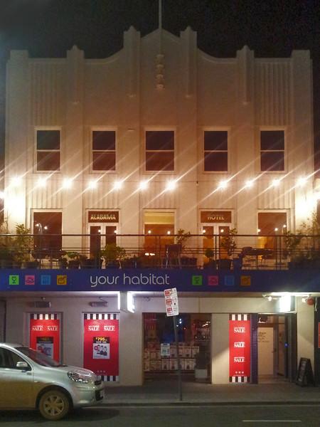 25 July 2015: Alabama Hotel, 72 Liverpool Street, Hobart.