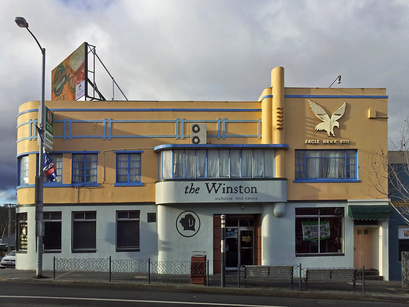 26 July 2015: The Winston, Elizabeth Street, North Hobart, Tasmania.