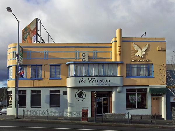 26 July 2015: The Winston, Elizabeth Street, North Hobart, Tasmania.